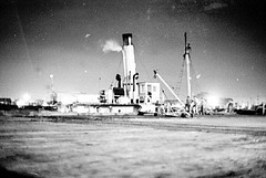Vessel 'Waratah', 1968 (UON Library,University of Newcastle, Australia) Tags: stockton stocktonhistory maritime shipping newcastlehistory waratah newsouthwales australia