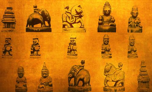 """Chaturanga-makruk / Escenarios y artefactos de recreación meditativa en lndia y el sudeste asiático • <a style=""""font-size:0.8em;"""" href=""""http://www.flickr.com/photos/30735181@N00/32522158595/"""" target=""""_blank"""">View on Flickr</a>"""