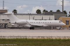 G-RAAA - 2011 build Bombardier BD700 Global Express XRS, visiting Miami (egcc) Tags: 9423 bd700 bizjet bombardier dadecounty florida graaa global globalexpress globalexpressxrs kmia lightroom mia miami tagaviation vip