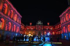 Hotel de Ville (JDAMI) Tags: hôteldeville mairie éclairages rouge patinoire bleu marchédenoël noël nikon d600 tamron 2470 amiens somme 80 picardie hautsdefrance france