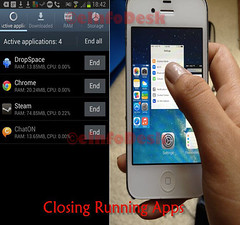 closing running apps (eInfoDesk) Tags: 10 ways make your phone live longer methods steps care