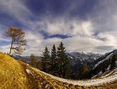 Weg (Oliver Noggler) Tags: amerlügen wolkenstimmung feldkirch at vorarlberg dreischwestern älpele winter