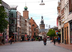Nijmegen city center (mdarowska) Tags: street city holland netherlands dutch nijmegen europe thenetherlands nl visitholland