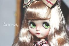 Carolina (Emilys Dolls) Tags: bigeyes blythe customblythe japandoll kawaiidoll blythecollector blythecu