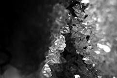 Crystal, Stones Macro - Cristal, Macro de Pedras (@MASlivak ) Tags: bw abstract macro stone crystal pb mineral cristal pedra macroextensiontube abistrato maslivak
