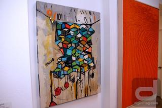 Zener Schon Contemporary Art Gallery: Breaking Boundaries Group Exhibition   Photos © Dig In Magazine/Cindy Maram