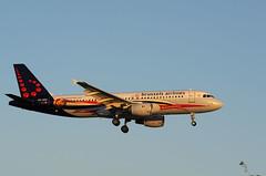 A320 OO-SNC Brussels Al Red Devils (Avia-Photo) Tags: barcelona plane aviation bcn airbus aviacion luftfahrt lebl