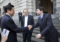 Vitali, Espieira y Dong Wei en el CCK (Ministerio de Cultura de la Nacin) Tags: china delegacin recorrida espieira ministeriodeculturadelanacin centroculturalkirchner