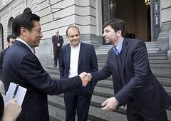 Vitali, Espiñeira y Dong Wei en el CCK (Ministerio de Cultura de la Nación) Tags: china delegación recorrida espiñeira ministeriodeculturadelanación centroculturalkirchner