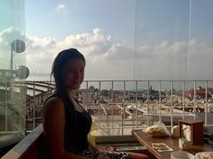 Petit déjeuner avec vue sur la mer Marmara