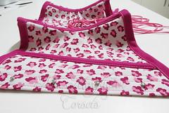 Waist Cincher estampado em popeline (Ms. Morghann Corsets) Tags: pink waist corset underbust oncinha tightlacing waistcincher popeline