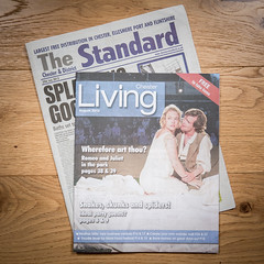 Chester & District The Standard Living (30th July 2015) (Mark Carline) Tags: chester romeoandjuliet chesterperforms chesterchroncile gpoat grosvenorparkopenairtheatre