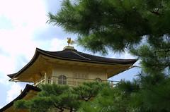 Golden Pavilion kinkaku-ji rooftop