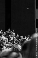 Catching the Foul (Steven Green Photography) Tags: people sports ball audience baseball littlerock outdoor crowd streetphotography entertainment ballgame catch midair arkansas spectator travelers pastime foulball popfly littlerocktravelers