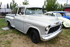 1955 chevy 3100 (bballchico) Tags: chevrolet 1955 pickuptruck 3100 goodguys