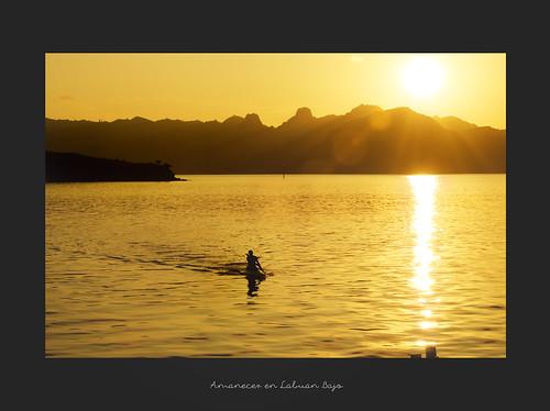 amanecer en Labuan Bajo