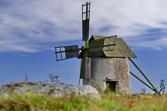 Gotland- Mhle (Don Bello Photography) Tags: mill windmill sommer explorer schweden himmel wolken gotland stein 1000views abendstimmung windmhle 2015 abendlicht 400favorites 2000views 10000views 5000views 15000views 3000views 4000views 1500views scandinavien 100favorites 50favorites 200favorites 300favorites himmelsbilder 150favorites 250favorites lumixphotographer donbello panasonicphotographer reinhardbellmann panasonicfz1000 lumixfz1000 acdseeultimate8 donbellophotography inselgotland