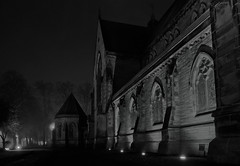 inverness cathedral scotland at night on a misty night-060718 (E.........'s Diary) Tags: eddie ross newburgh fife scotland olympus omd em5 mark ii novemeddierossnewburghfifescotlandolympusomdem5markiinovember2016 inverness cathedral misty night