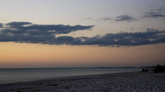 Closing Time DSL6745 (iloleo) Tags: longexposure florida barefootbeach sunset le nikond7000 beach scenic landscape clouds nature shoreline
