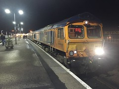 Fort William - 29-12-2016 (agcthoms) Tags: invernessshire scotland highland fortwilliam station railways trains gbrf serco class66 66737