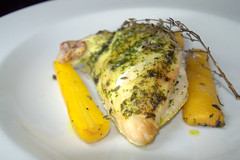 Wild Garlic Welsh Chicken Supreme with Yellow Carrot & Thyme (Tony Worrall) Tags: add tag ©2016tonyworrall images photos photograff things uk england food foodie grub eat eaten taste tasty cook cooked iatethis foodporn foodpictures picturesoffood dish dishes menu plate plated made ingrediants nice flavour foodophile x yummy make tasted meal wild garlic welsh chicken supreme with yellow carrot thyme meat