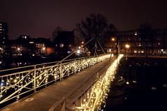 Trompbrug | Groningen (frata60) Tags: nikon d300s netherlands nederland 1224mm tokina groningen avondfotografie avond nightshot brug trompbrug oosterpoort stad city centrum licht light kerst