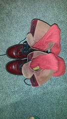 20161027_073501 (rugby#9) Tags: drmartens boots icon size 7 eyelets doc docs doctormarten martens air wair airwair bouncing soles original 14 hole lace docmartens dms cushion sole yellow stitching yellowstitching dr comfort cushioned wear feet dm 14hole cherry socks wool red redsocks bootsocks redbootsocks 1914 boot footwear shoe indoor