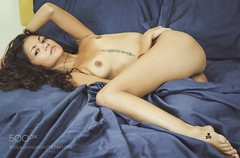 Maybe.... (HoustonHVAC170) Tags: girl beauty eyes beautiful studio glamour body female pretty model face nude hair sexy sensual maya