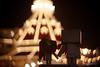 Danbo-tachi (//ZERO) Tags: danbo danboard danboru danbooru revoltech christmas christmaslights christmasdecoration christmasdecorations hoteldelcoronado coronado sandiego socal socalwinter festive canon50d canon50mmf18 bokeh filter