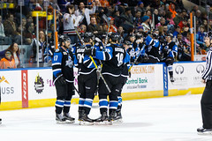 "Missouri Mavericks vs. Wichita Thunder, January 7, 2017, Silverstein Eye Centers Arena, Independence, Missouri.  Photo: John Howe / Howe Creative Photography • <a style=""font-size:0.8em;"" href=""http://www.flickr.com/photos/134016632@N02/31872461070/"" target=""_blank"">View on Flickr</a>"