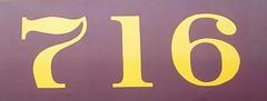 716 gold purple, royal (~ Blu ~) Tags: blu numbers 716