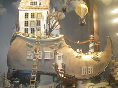 Whose shoe is it? (VERUSHKA4) Tags: shoe ballon russia moscow europe fairy tale big vue view ville window house roof tree album january holiday winter showcase tsum shop art decor city cityscape door stairs lighthouse ship