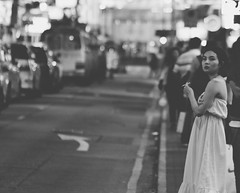 Hong Kong Streets (!Kevin!) Tags: hongkong streetphotography nightphotography woman girl smoking smoke street sigarette streetprincess