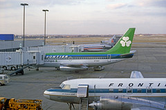 A Helping Hand From Ireland (craigsanders429) Tags: jets jetliners frontierairlines 737 boeing737 stlouis lambertstlouisairport lambertfield lambertstlouisinternationalairport aircraft airplanes 727 boeing727 americanairlines turbopropaircraft convair580 aerlingus airlines airliners
