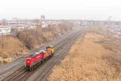 You Look a Little Lost... (sully7302) Tags: morristown erie mx22 oi83 conrail shared assets me alco c424 18 emd sw1500 20 mp15dc 2408 norfolk southern newark oak island ph passaic harsimus garden state secondary chemical coast bayway