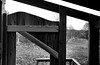 - door to the wilderness - (-wendenlook-) Tags: 1125 iso640 sony alpha7ii a7ii 3528 sw bw monochrome holz wood lomizil