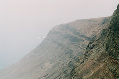 (annadosenes) Tags: lanzarote canarias canary islands spain europe travel journey experience adventure photography analog film 35mm discover summer roadtrip sea cliffs famara fog myst fujifilm zenit11 nature minimal