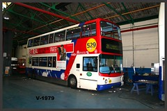Travel West Midlands Dennis Trident 2/Alexander ALX400 4132 ((Stop) The Clocks) Tags: y724toh 4132 twm travelwestmidlands walsallpaintshop dennis dennistrident2 400 alx400 alexanderalx400 alexanderdennis