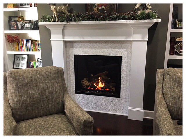 Mendota FV-41 Direct Vent Fireplace. Chattanooga, Tn.
