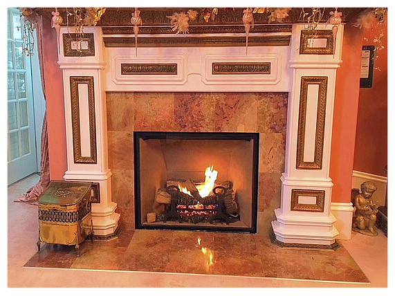 Town and Country TC42 Direct Vent Fireplace.