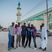 In front of the mosque, Hargeisa