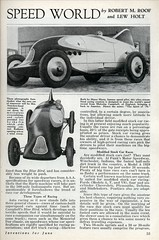 1933 Marvels of the Auto Speed World (Jun, 1933) 2 of 4