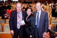 Edward de Bono, Tania de Jong and High Morgan at CI2010
