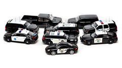CHP & SFPD (Pumpkin Kuma) Tags: california ca ford car model highway explorer tahoe police chevy porsche chp vehicle dodge cayman silverado patrol 2500 sfpd interceptor glm 143 diecast