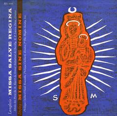 Dufay Missa sine nomine Langlais Missa salva regina - Haydn Society (sacqueboutier) Tags: music church catholic latin sacred mass haydn renaissance missa nomine langlais dufay