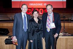 Hugh Morgan, Tania de Jong & Edward de Bono (2)