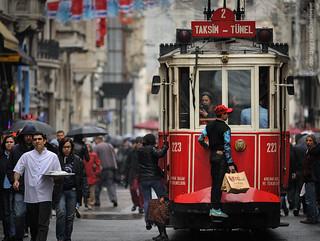 Istanbul - next stop Taksim