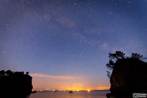 Crozon by night