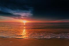 Sunrise 2015 Summer (Dapixara) Tags: ocean travel beach capecod quotes sunrises nausetbeach sunrise2015summerdapixaraphotograph