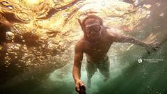 Summer 2015 (Lo_straniero) Tags: black underwater 4 hero puglia polignanoamare gopro younesstaouil